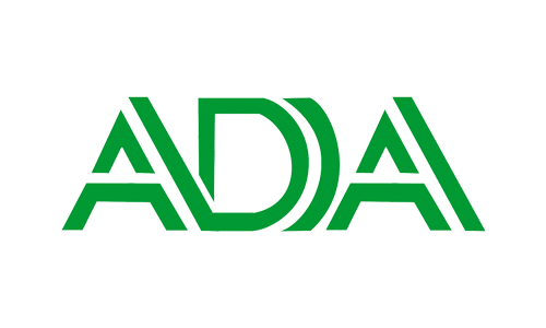 ADA logo showing the concept of Our Team